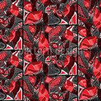部族タイル シームレスなベクトルパターン設計