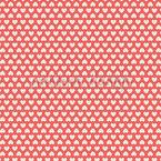 Corações minúsculas Design de padrão vetorial sem costura