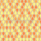 Shimmering Drops Seamless Vector Pattern Design