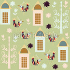 Birds in Spring Design Pattern