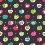 Healthy Apples Repeat Pattern
