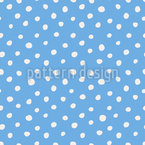 Dots Like Snowflakes Design Pattern