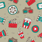 Movie Night Vector Design