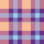 Picnic Plaid Seamless Vector Pattern Design