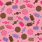 Candy Strawberry Vector Ornament