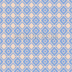 Mosaic from flowers Seamless Vector Pattern Design