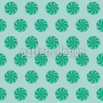 Bonbons Blue Seamless Pattern