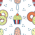 Cheat Day Seamless Vector Pattern