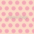 Bonbons Pink Seamless Vector Pattern Design