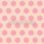 Bonbons Rosa Nahtloses Vektor Muster