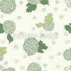 Feld Blumen Nahtloses Vektormuster