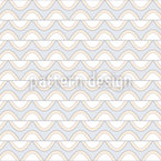 Waving Stripes Seamless Vector Pattern Design