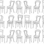 Classic Chairs Repeat Pattern