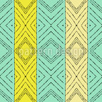 Drawing A Line Seamless Vector Pattern