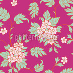 BouquetPink Seamless Vector Pattern Design