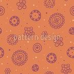 Flower Fun Vector Pattern
