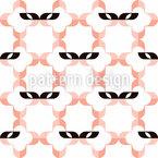 Carnaval de Veneza Design de padrão vetorial sem costura