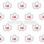 Canada Seamless Vector Pattern Design