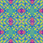 Mexican Style Seamless Vector Pattern Design