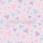 Full Of Love Seamless Vector Pattern Design
