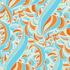 Adrift in a Summer Dream Seamless Vector Pattern Design