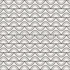 Streifen und Wellen Musterdesign