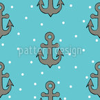 Anchor Seamless Vector Pattern Design