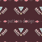 Boho Patch Seamless Vector Pattern Design