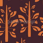 Plantita Funk Seamless Pattern