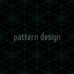 Cobweb At Night Pattern Design