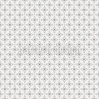 Cross Leaves Vector Pattern