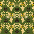 Indonesian Nature Pattern Design