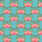 Lotus Pond Repeat Pattern