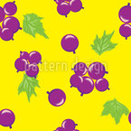 Summer Currant Seamless Vector Pattern Design