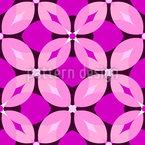 Lady Bloom Vector Pattern