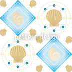Mitilo Bianco Seamless Vector Pattern Design