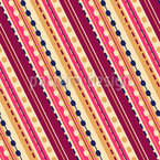Diagonale Streifen Nahtloses Vektormuster