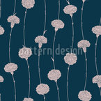 Billowy Carnations Repeat Pattern
