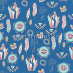 Summer Festival Seamless Vector Pattern Design