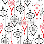 Christmas ornament Seamless Vector Pattern Design