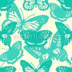 Mein Schmetterling Nahtloses Vektormuster