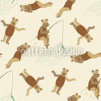 Bears on the Beach Pattern Design