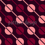 Diagonal Stripes and drops Pattern Design