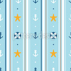 Nautical wallpaper Vector Ornament