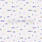 Minimalistische Quadratische Formen Nahtloses Muster