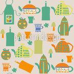 Kitchen Stuff Seamless Vector Pattern Design