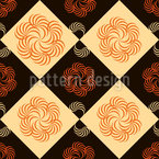 Check with fantasy flower Design Pattern
