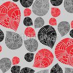 Embellished Teardrops Seamless Pattern
