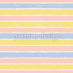Painting Stripes Vector Pattern