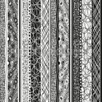 Listras Estrutura Design de padrão vetorial sem costura
